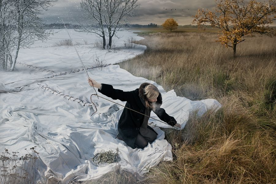 Expecting winter - Photo Manipulations by Erik Johansson