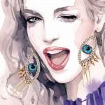 Mind Blowing Fashion Illustrations by Malesani Alicia