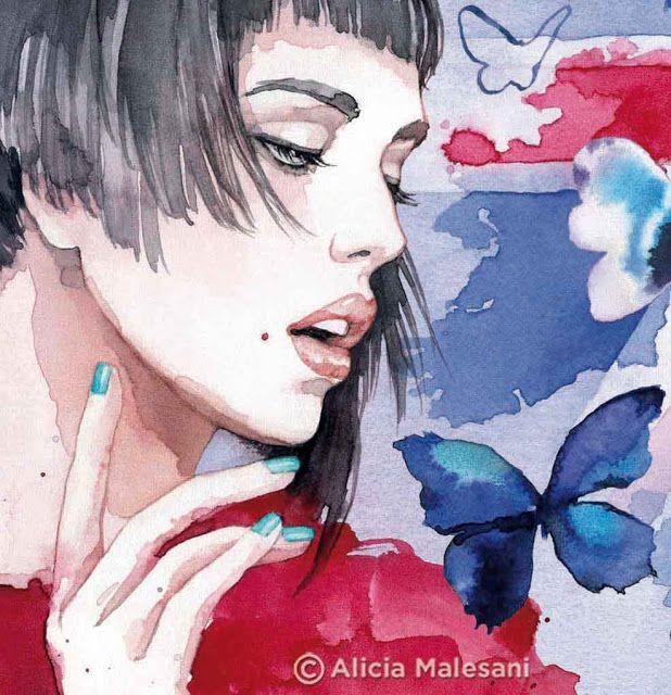 Fashion Illustrations by Malesani Alicia