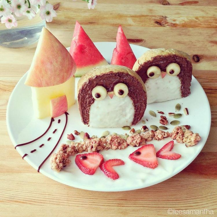 Adorable and Funny Children's Breakfast