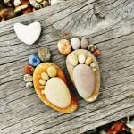 Outstanding Stone Footprints by Iain Blake