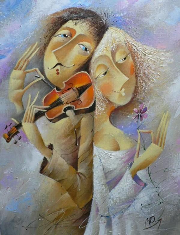 Romantic Paintings by Yuri Matsik