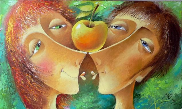 Love and Happiness in the Paintings of Yuri Matsik