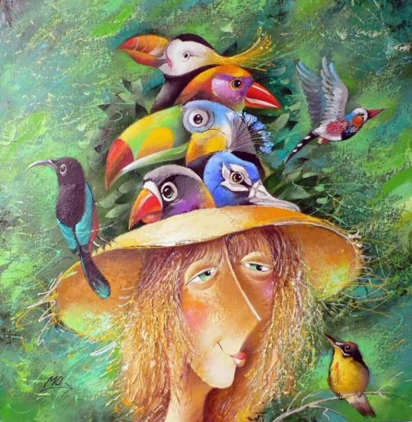 Love in the Paintings of Yuri Matsik