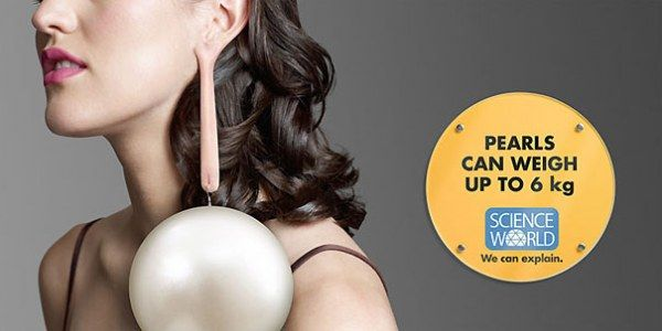 Pearls Can Weight upto 6 KG