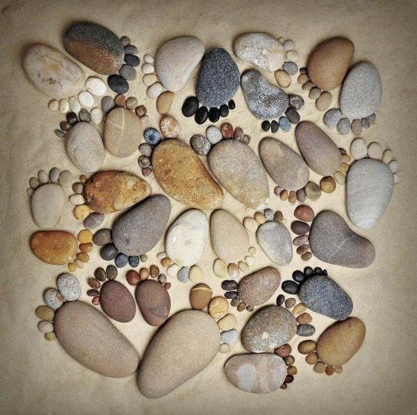 Stone Footprints by Iain Blake