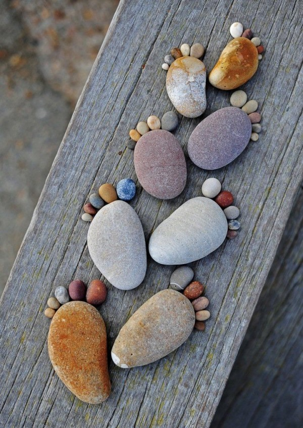 Wonderful Stone Footprints