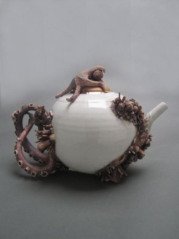 Bottom Feeder Teapot