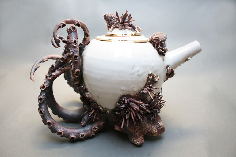 Bottom Feeder Teapot Two