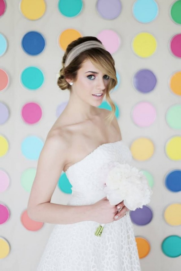Gorgeous Bride Makeup and Hairstyle Inspirations by Natalia Issa