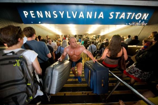 Business Travel - Bodybuilder & Kickboxer Vincent Iuzzolino
