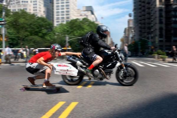 Delivery Boy - Competitive Longboarder Adam Crigler