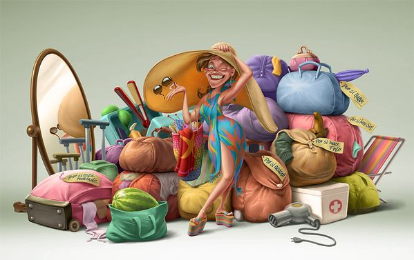 Incredibly Funny Illustration Artworks by Oscar Ramos