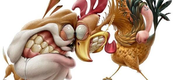 Incredibly Funny Illustration Artworks by Oscar Ramos