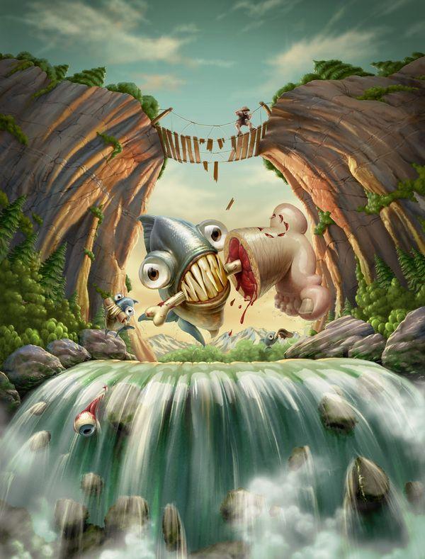 Hilarious Illustrations by Oscar Ramos