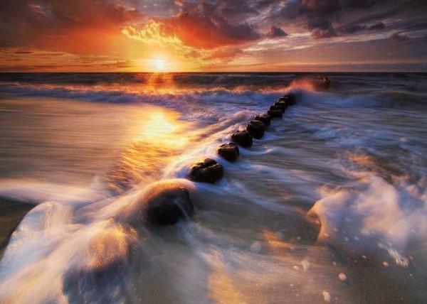 Impressive Baltic Sea
