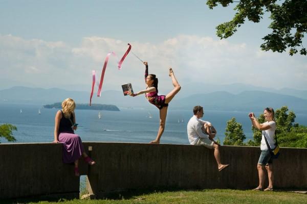 Light Reading by Jessica Sun - Rhythmic Gymnast