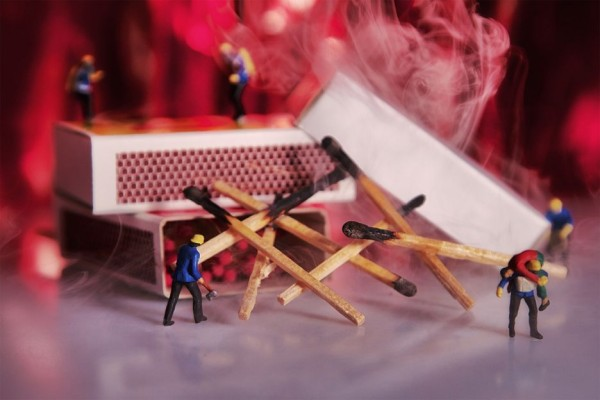 William Kass Creates a Wonderful Whimsical World Using Miniature People and Food