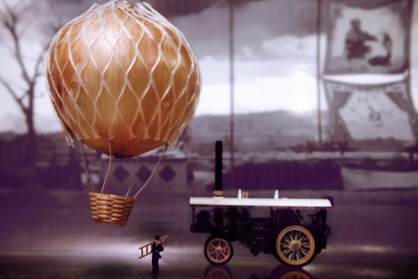 William Kass Creates a Wonderful Whimsical World Using Miniature People and Food