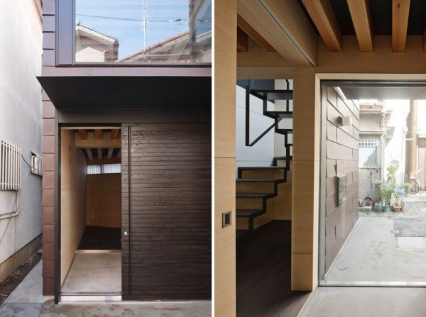 Surprising Narrow Vertical House in Japan