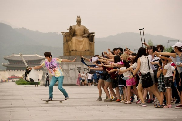 Quick Escape - Rock Star and Skateboarder Yoon Do Hyun