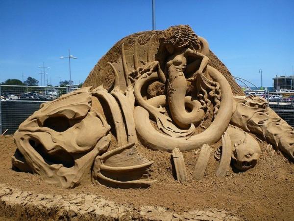 Incredible Sand Sculptures by Susanne Ruseler