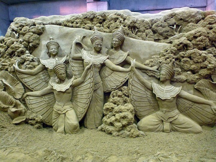 Amazing Sand Sculptures by Susanne Ruseler