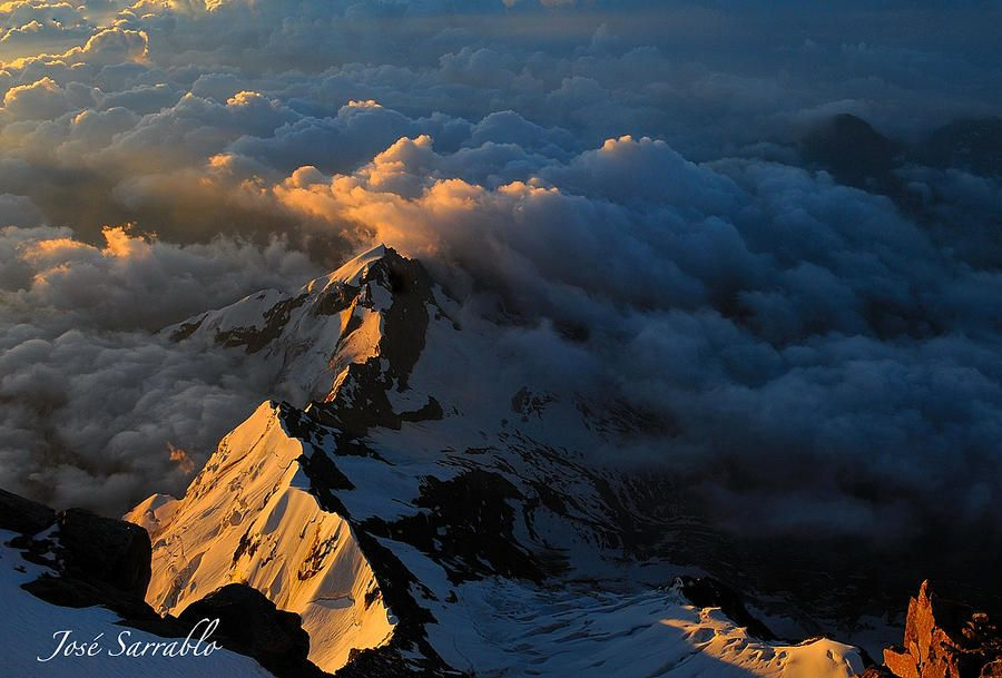 Stunning Snowy Mountains Photography by Jose Sarrablo