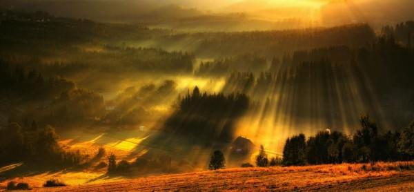 Sunrise in Beskidy