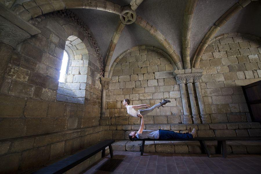 Window Light - Acro Yoga Specialists Jacob Jonas & Jill Wilson