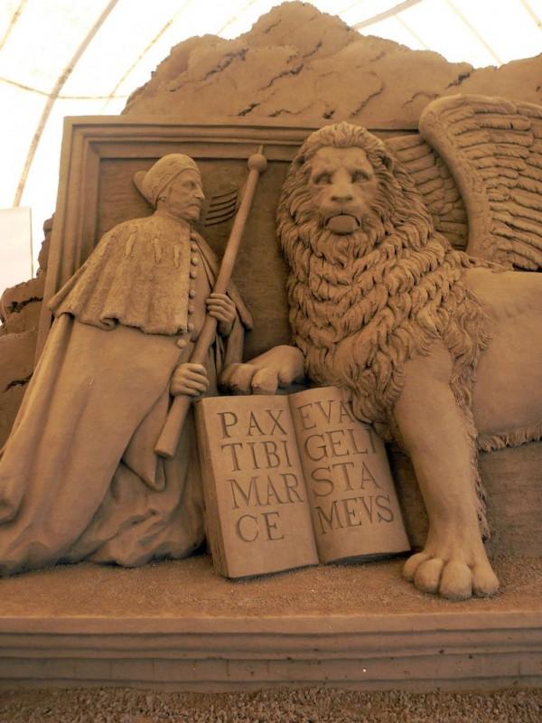 leone di San Marco con il Doge