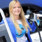 Cars and Girls at Auto Show