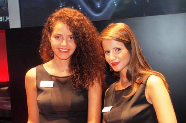 Beautiful Girls at Frankfurt Motor Show 2013