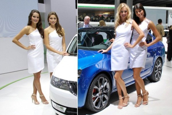 Beautiful Auto Girls