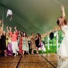 Bride Throwing Cats