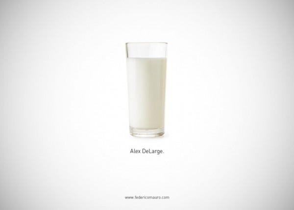 Famous Food and Drinks by Mauro Federico