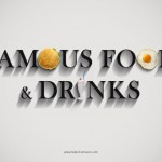 """Incredible Series of """"Famous Food and Drinks"""" by Mauro Federico"""