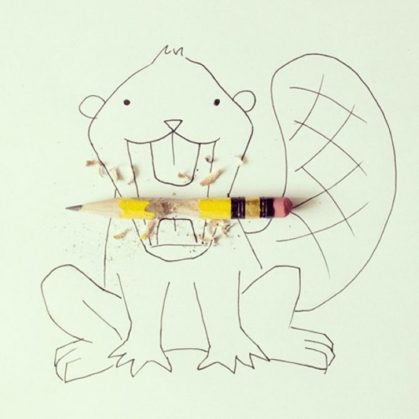 Whimsical Illustrations with Everyday Objects by Artist Javier Perez