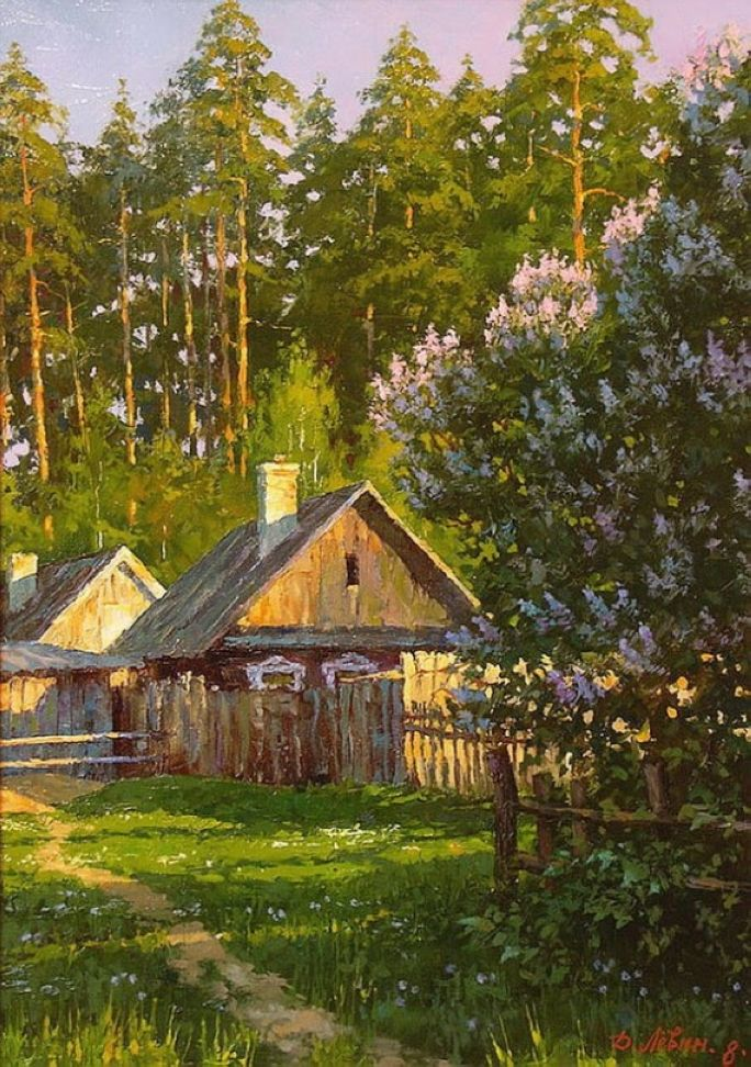 Realistic Landscape Paintings by Dmitry Levin