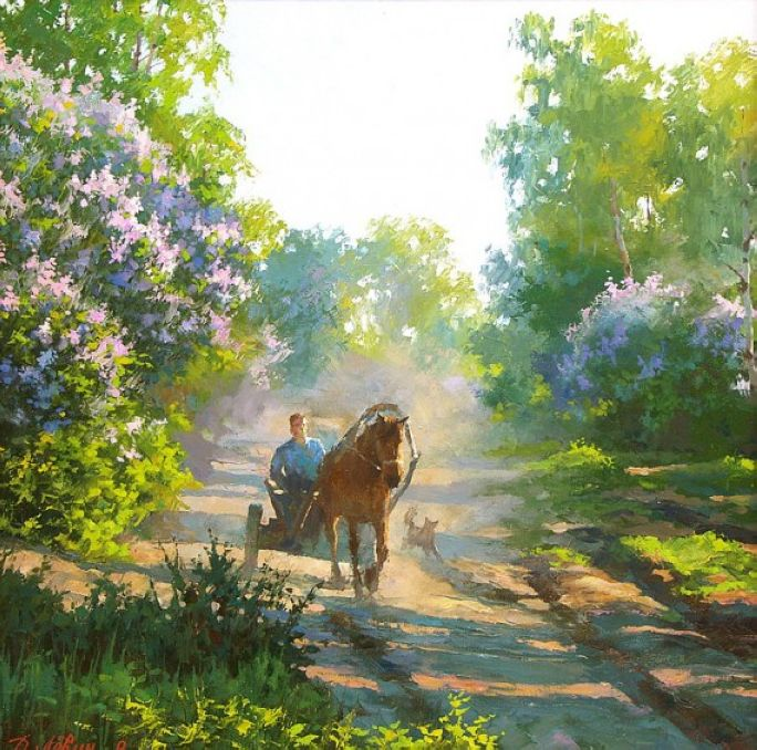 Realistic Landscape Paintings By Dmitry Levin The Wondrous