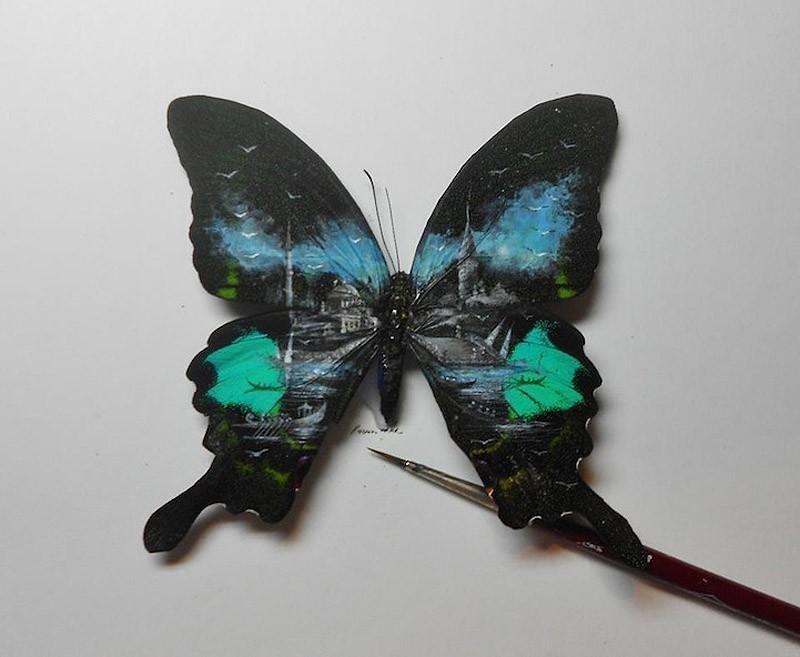 Artist Hasan Kale Paints Amazing Mini Masterpieces