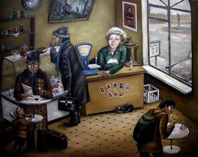 Incredible Paintings by Angela Dzherih