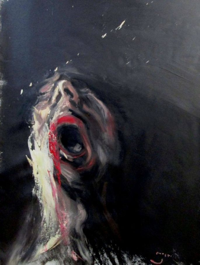 Incredible Tormented Portraits by Masri Hayssam