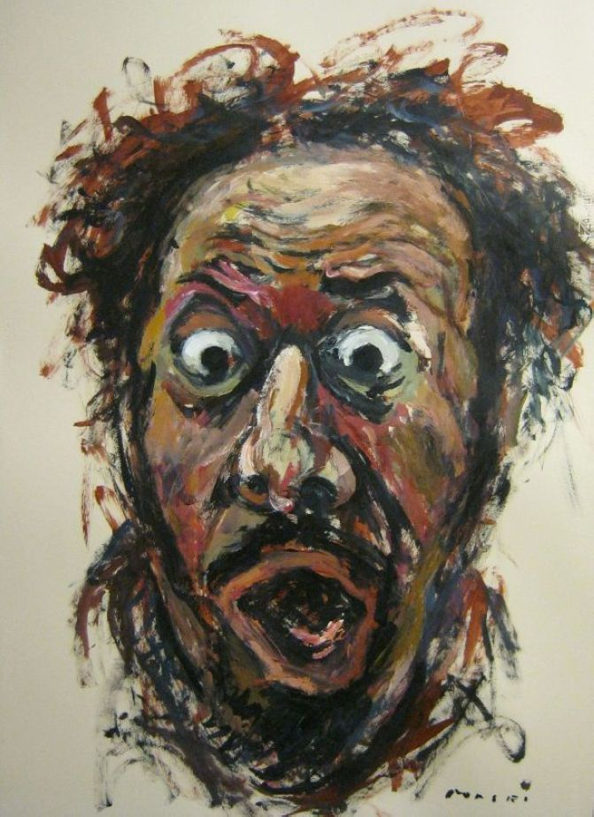 Incredible Tormented Portraits by Masri Hayssam - The Wondrous - photo#9