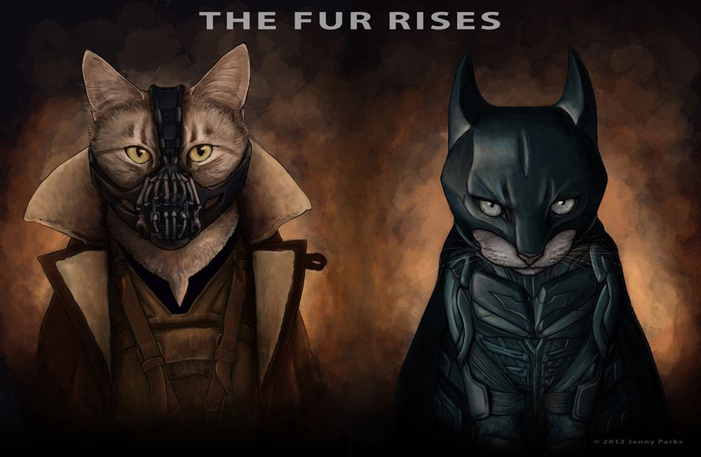 Cats as Superheroes