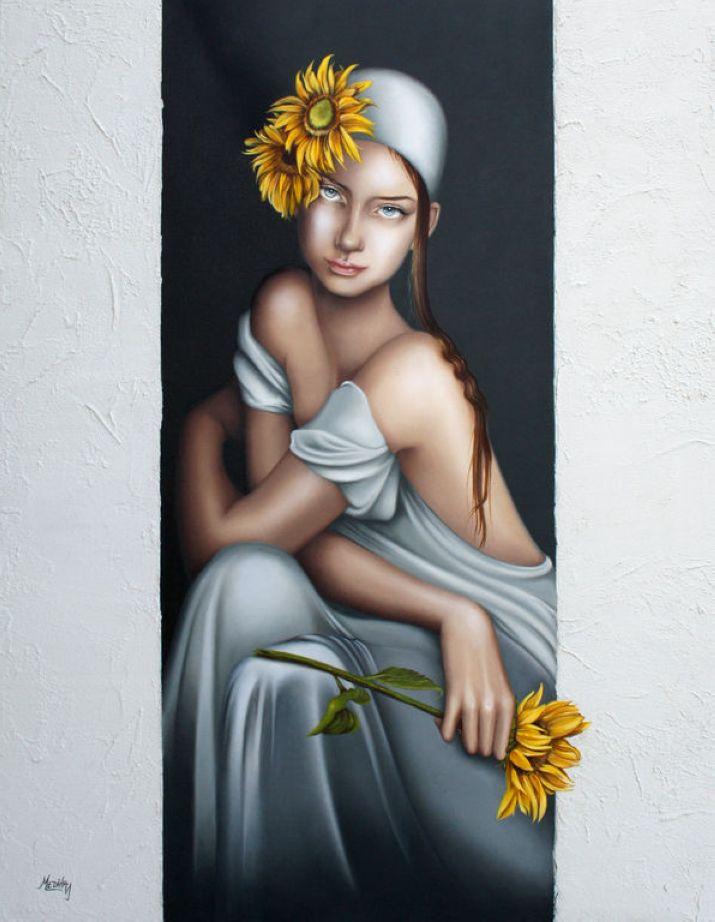 Impressive Female Paintings by Medina Evita