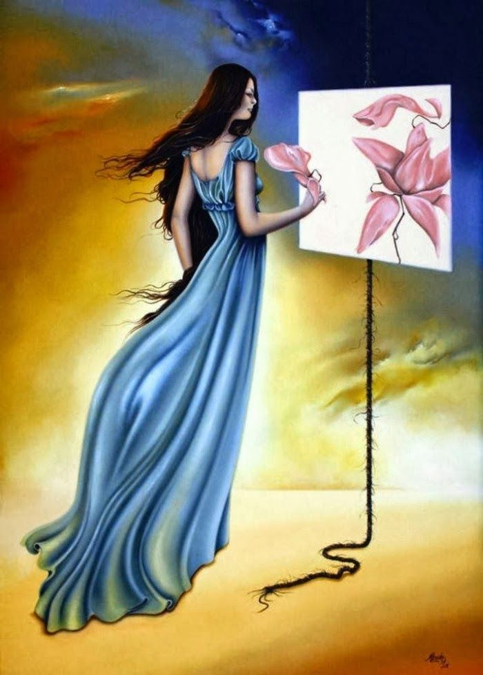 Impressive Hyper-Realistic Oil Paintings of Females