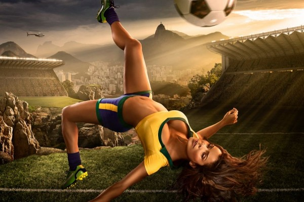 Ideal Football Players - 2014 World Cup Calendar