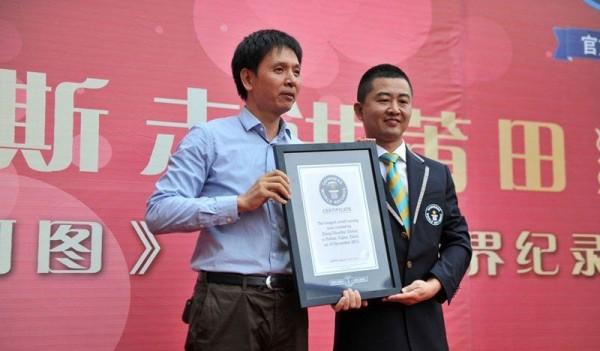 LargesZheng Chunhui t Wooden Sculpture in the World
