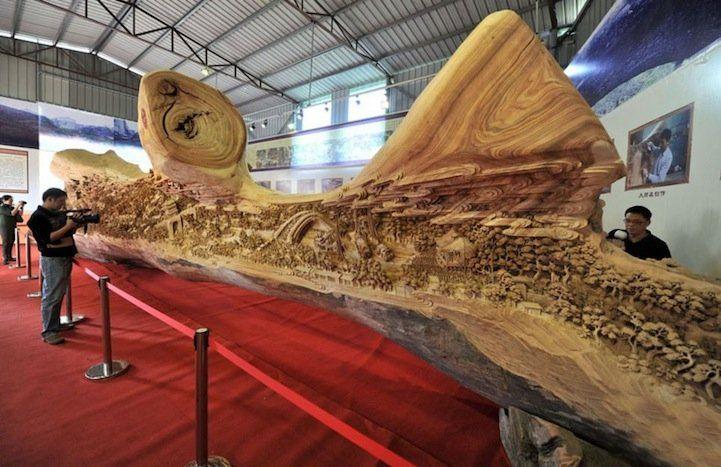 Largest Wooden Sculpture